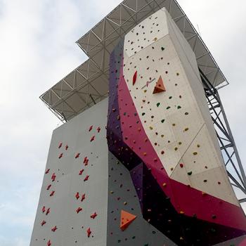 Wall Climbing di GOR Ciracas