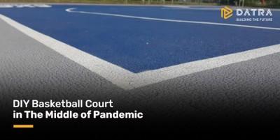 Lapangan Basket DIY di Tengah Pandemi