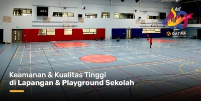 Keamanan dan Kualitas Tinggi di Lapangan Playground Sekolah