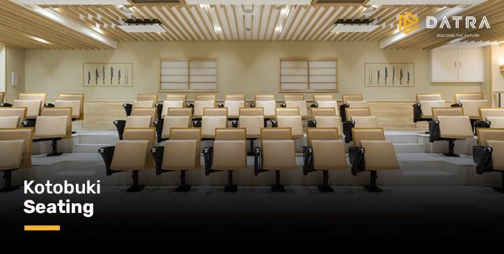 Kotobuki Seating: 100 Tahun Menginspirasi Ruang Publik