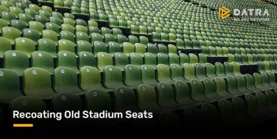 Coating ulang Kursi Stadion Indonesia