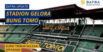 Proyek Renovasi Stadion Gelora Bung Tomo Selesai