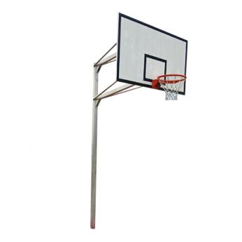 Tiang Basket Outdoor Permanen Single